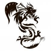 Fotografia tatuaggio del drago
