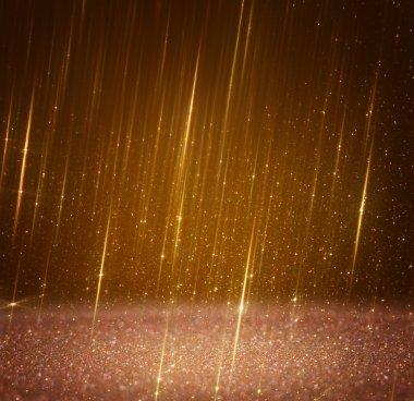 Glitter vintage lights background