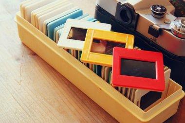 old slides frames