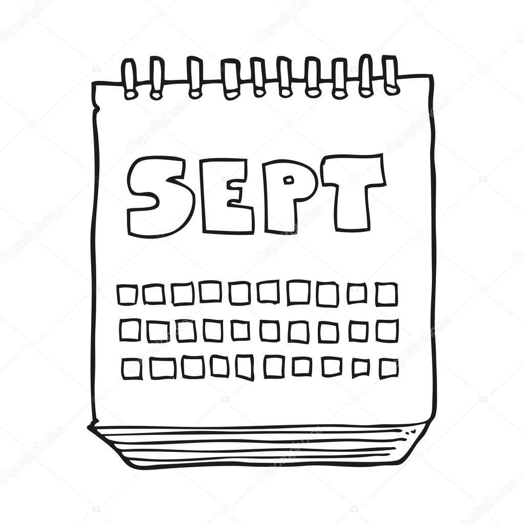 Calendario Dibujo Septiembre.Dibujos Del Mes De Septiembre Mes De Mostrar Dibujos