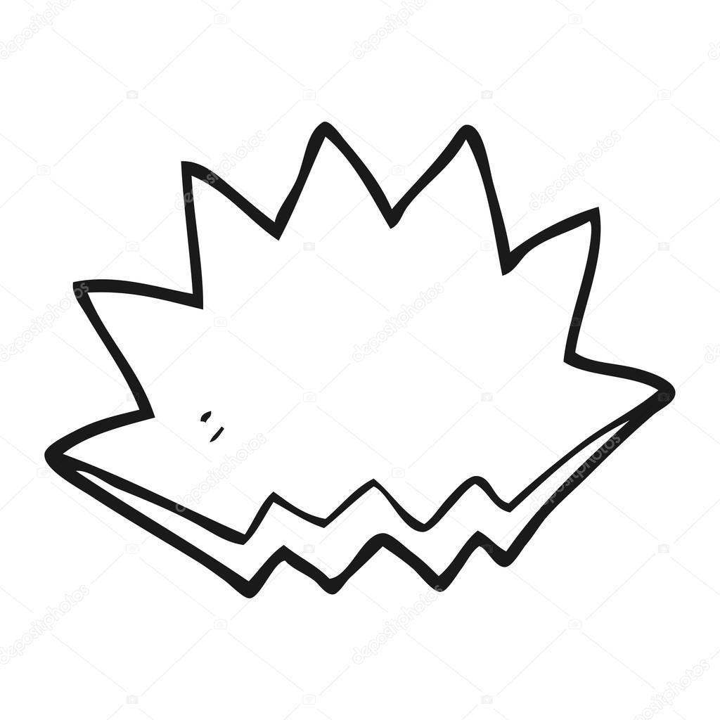 Black and white cartoon explosion decorative symbol stock vector black and white cartoon explosion decorative symbol stock vector buycottarizona