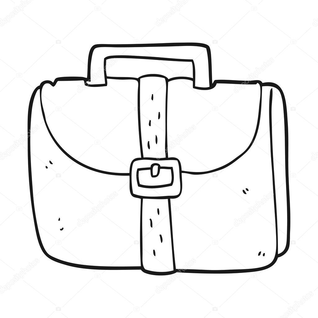 Viejos Negro En Dibujos Y De Blanco Trabajo Animados Bolsa qTYZ4w
