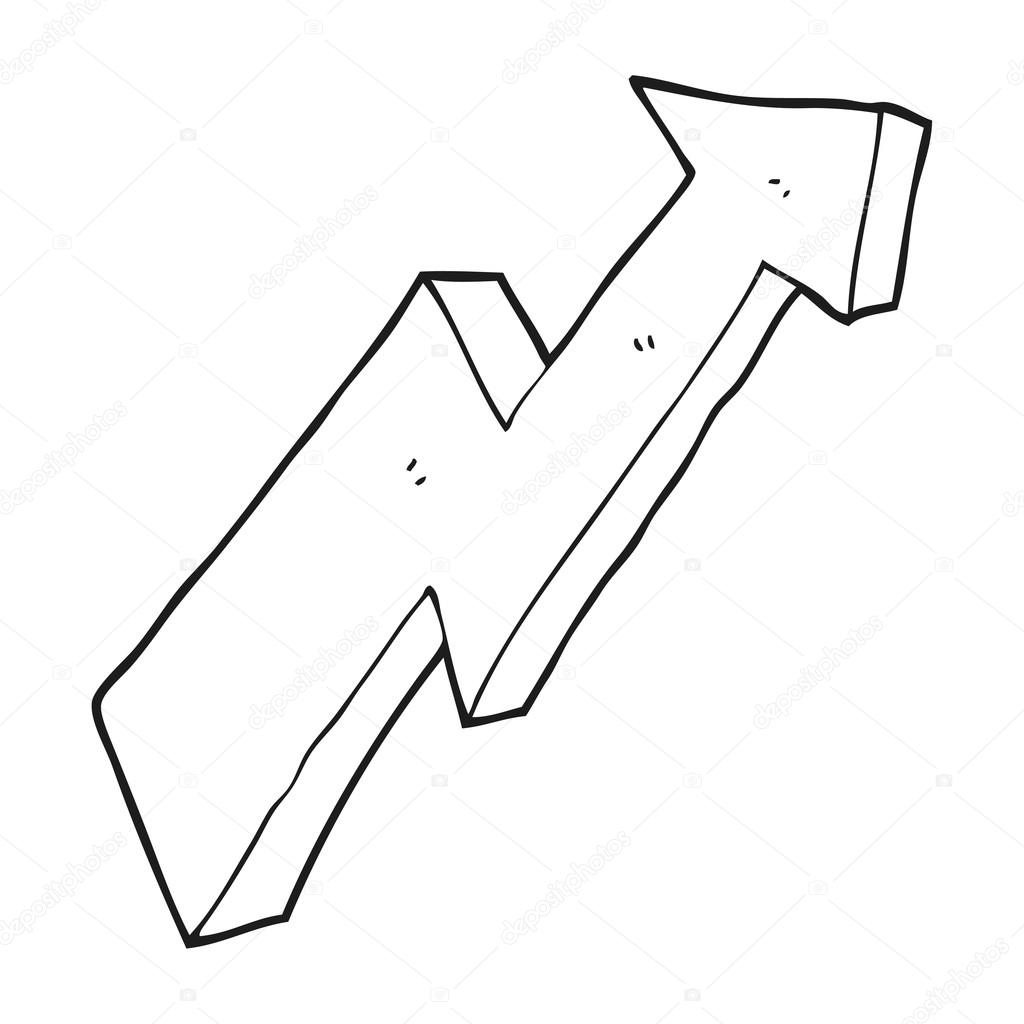 Dibujo De Flechas Para Colorear Flecha De Dibujos Animados
