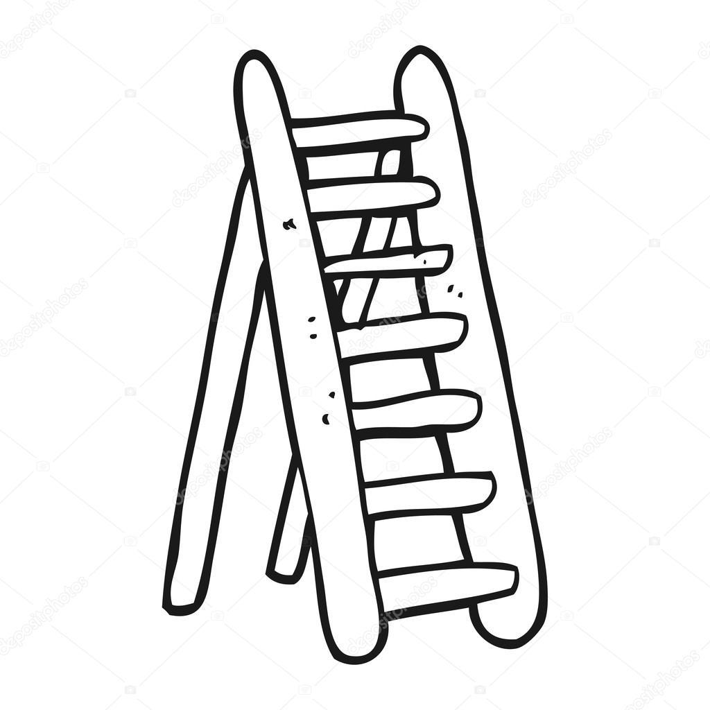 Dibujos Escalera Escalera De Blanco Y Negro De Dibujos