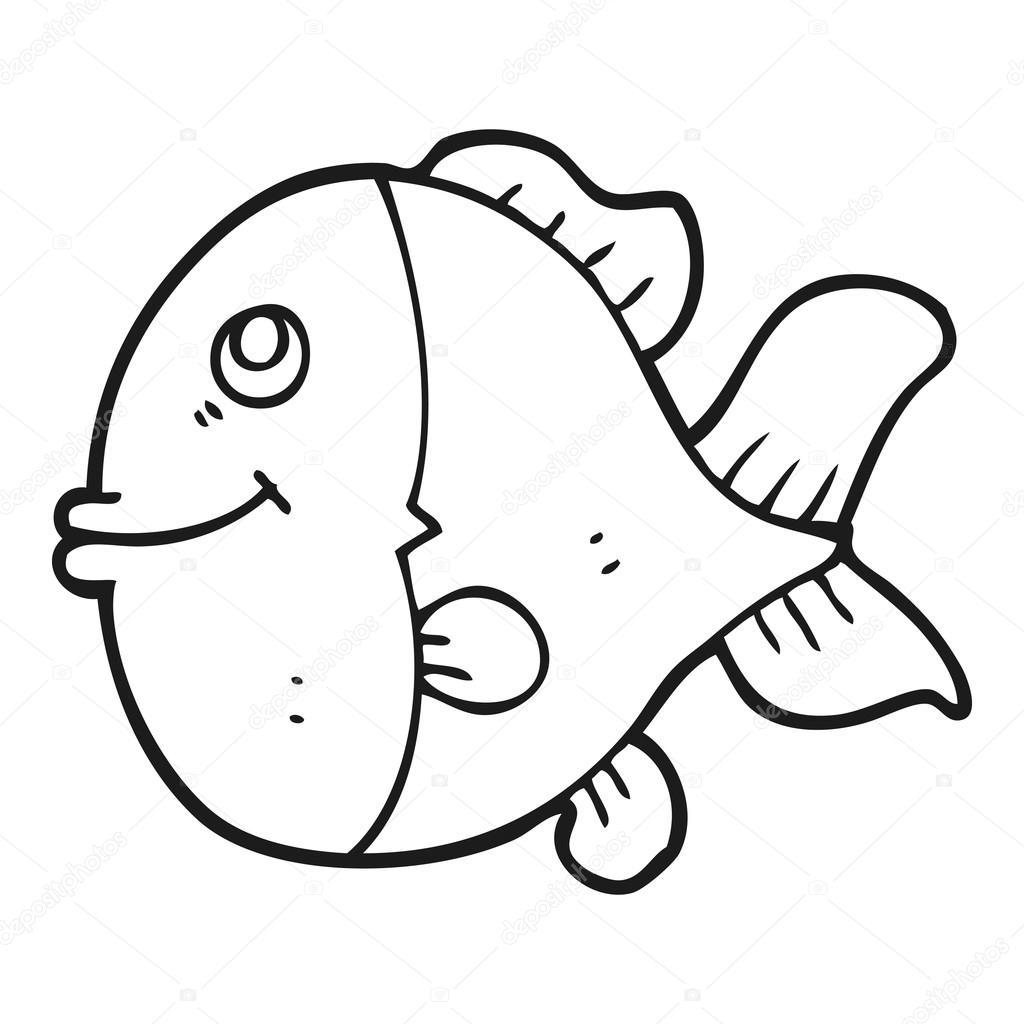 Dibujos Pez Blanco Y Negro Pescado Blanco Y Negro De Dibujos