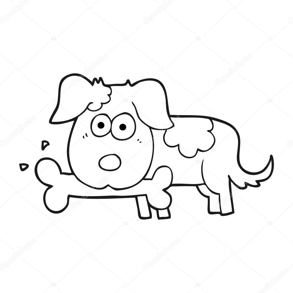 Imágenes Perros Animados En Blanco Y Negro Perro De