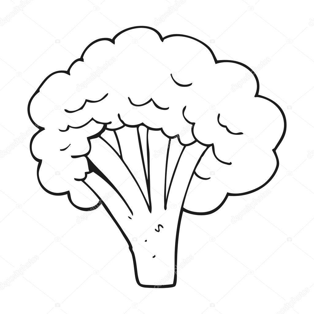 broccoli black and white black and white cartoon broccoli stock vector c lineartestpilot 101507518 https depositphotos com 101507518 stock illustration black and white cartoon broccoli html