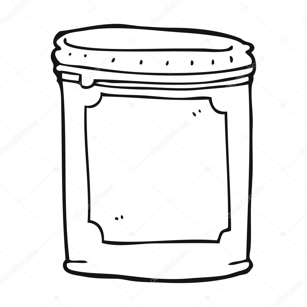 Malvorlage Marmeladenglas  Coloring and Malvorlagan