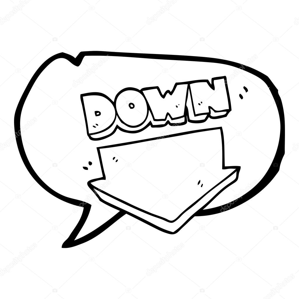 down arrow clip art great drawing programs federal signal