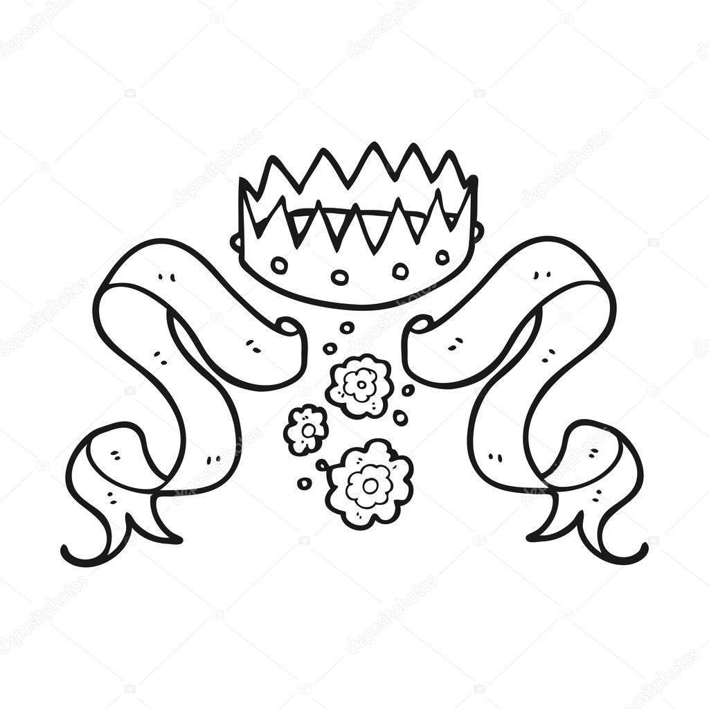 Black And White Cartoon Crown And Scroll Stock Vector C Lineartestpilot 101550558 I'm going to paint the gold on later hopefully. https depositphotos com 101550558 stock illustration black and white cartoon crown html