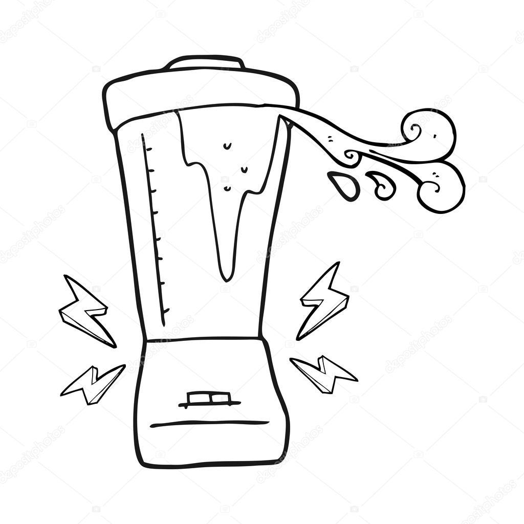 Imágenes Licuadora En Blanco Y Negro Licuadora De Dibujos