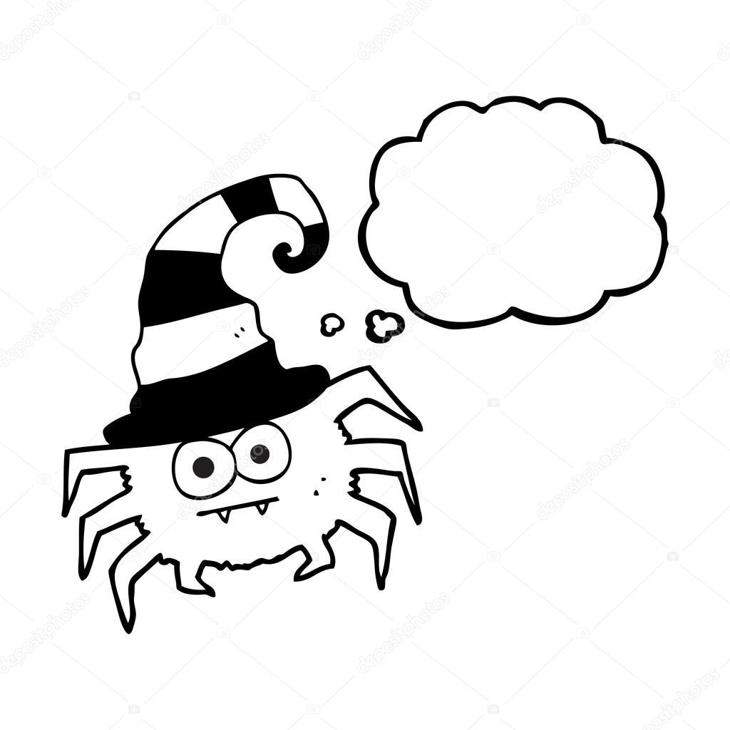 Globo Dibujos Animados Arana De Halloween Archivo Imagenes - Dibujos-araas-halloween
