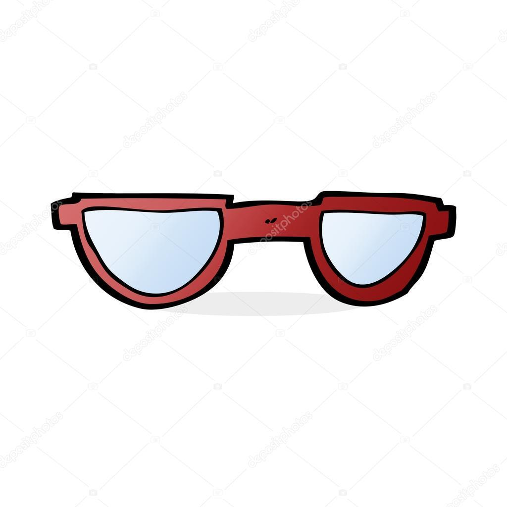 眼鏡の漫画イラスト ストックベクター Lineartestpilot 101747372