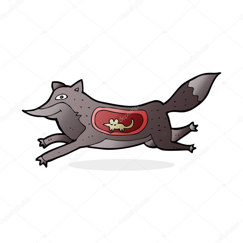 картинки мультяшки волк с шашлыком