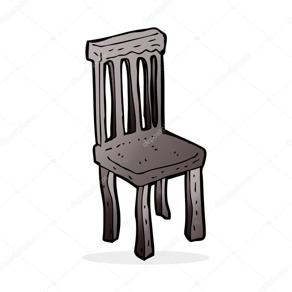 Chaise dessin anim - Dessin de chaise en perspective ...