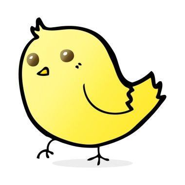 cartoon illustration of bird