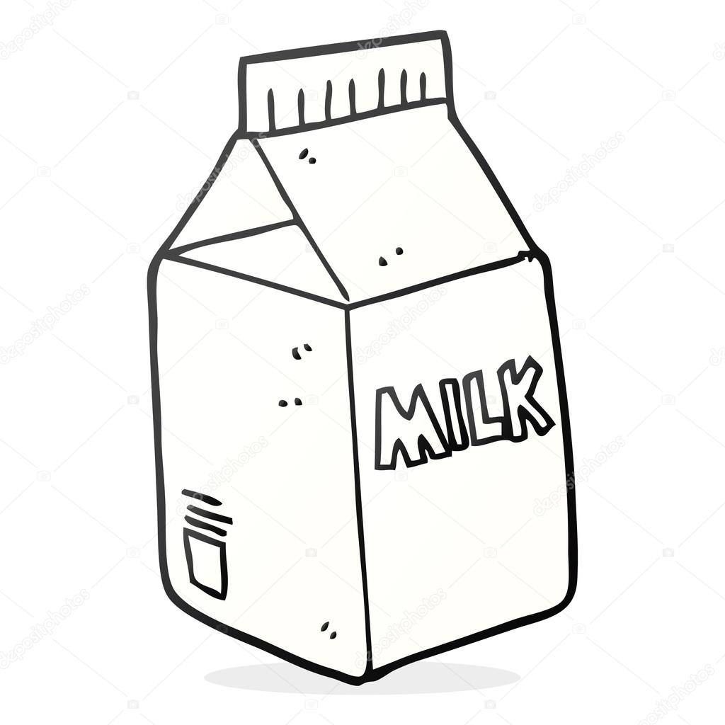 cartoon milk carton stock vector lineartestpilot 101975538 rh depositphotos com small milk carton cartoon milk carton cartoon character