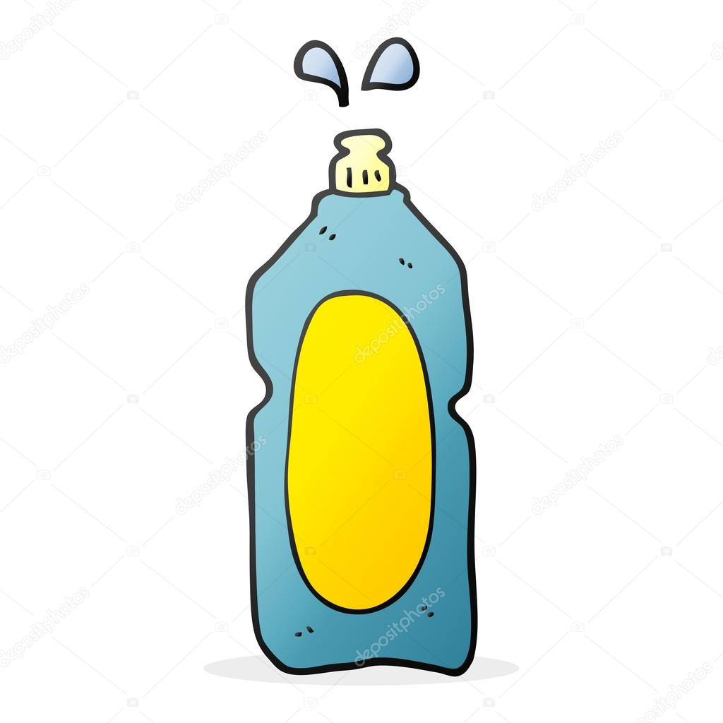 cartoon cleaning product — Stock Vector © lineartestpilot ...