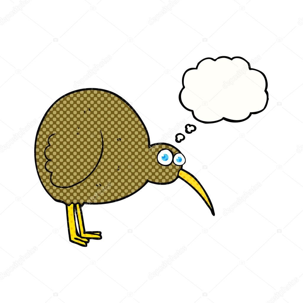 Uçamayan Kuşların En Komiği Kivi Kuşu