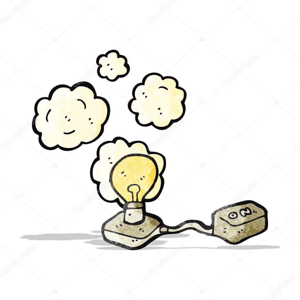 Circuito Electrico : Dibujos animados de circuito eléctrico u archivo imágenes