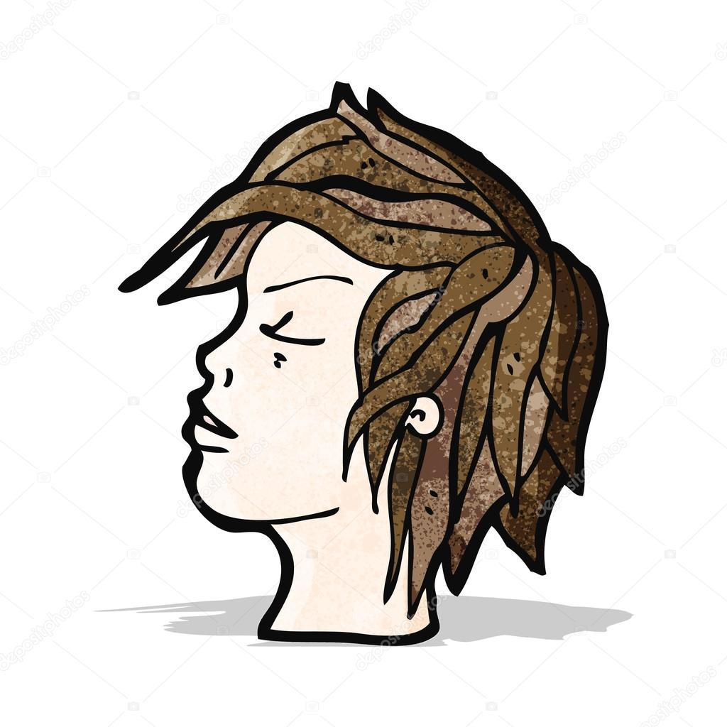 Visage de profil de dessin anim image vectorielle lineartestpilot 54448993 - Visage profil dessin ...