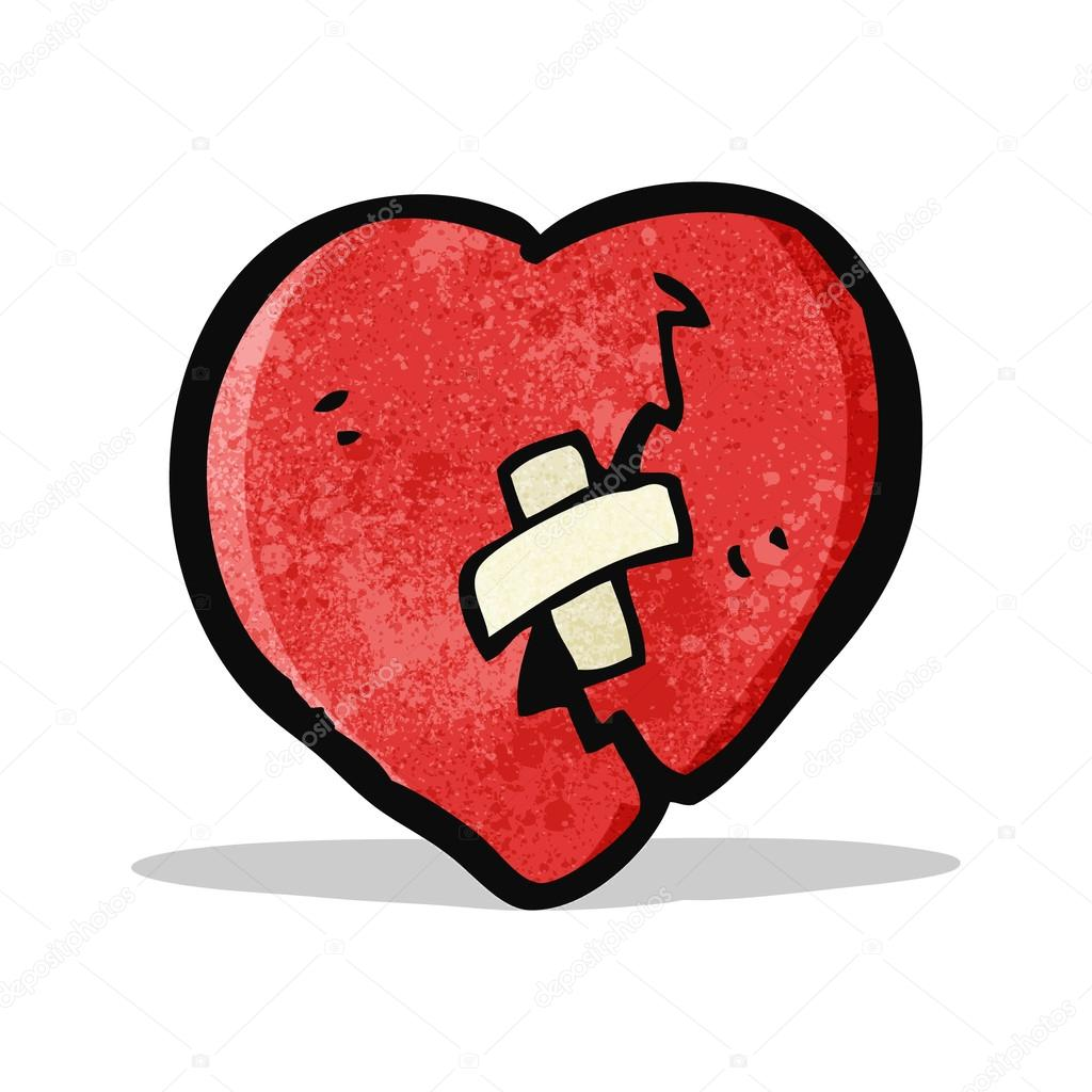 Imágenes Corazones Rotos Para Dibujar Dibujos Animados De Corazón