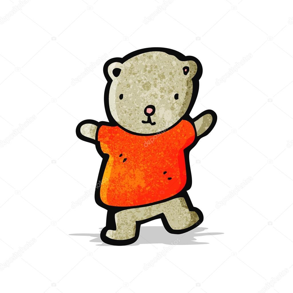Cartone animato orsetto u2014 vettoriali stock © lineartestpilot #56306213