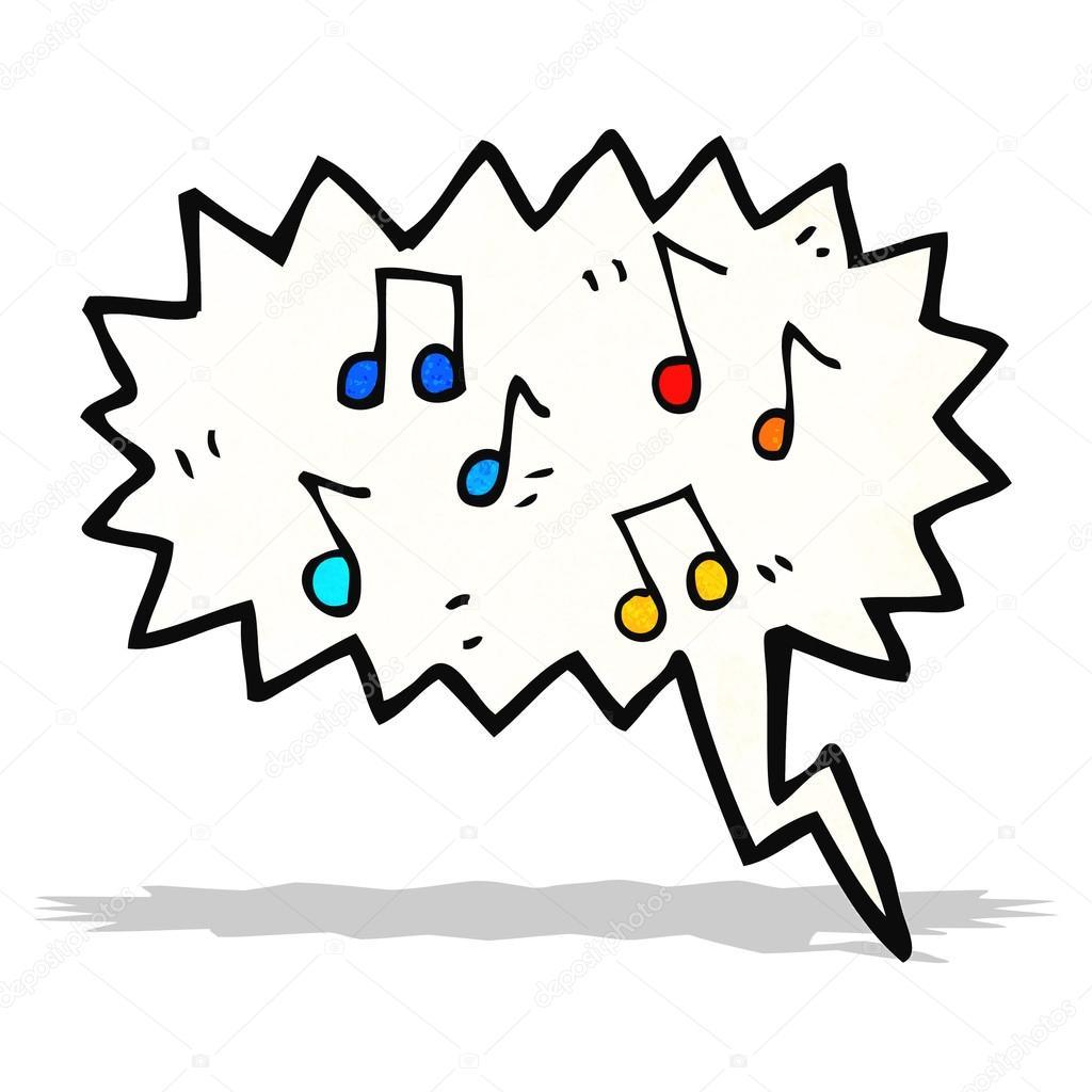 Dibujos Notas De Musica Dibujos Animados De Notas Musicales