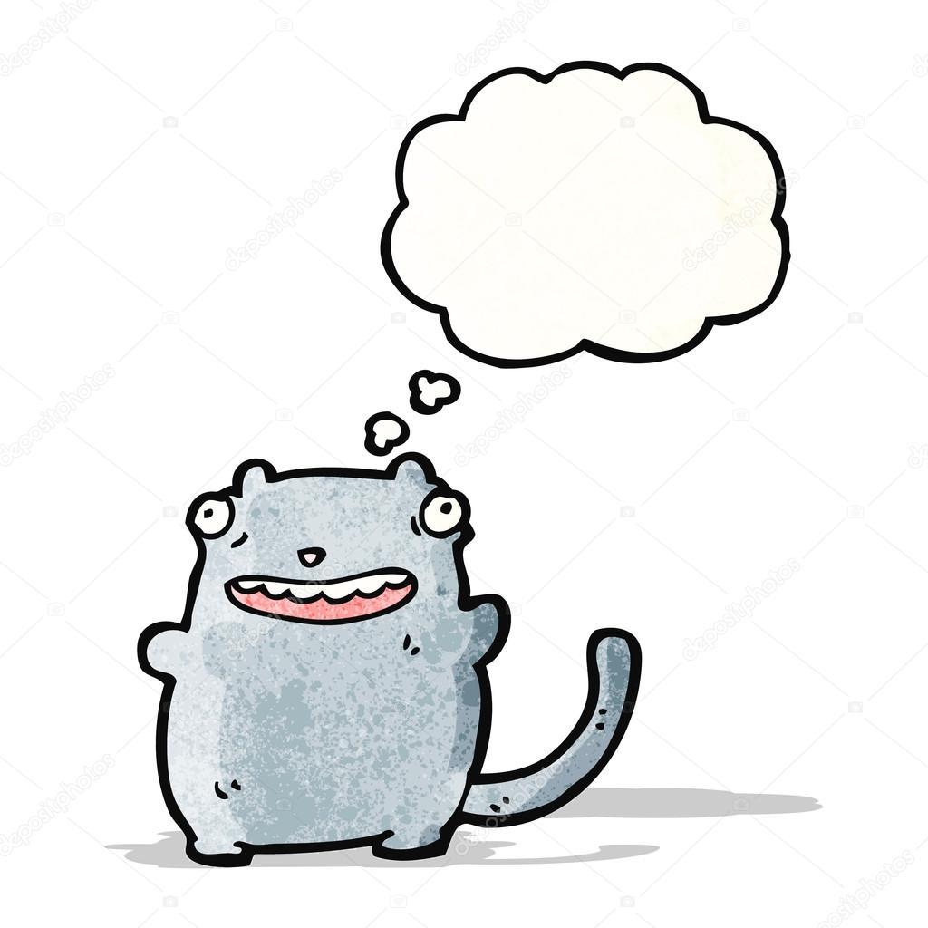Fat Ugly Cat Fat Ugly Cartoon Cat Stock Vector C Lineartestpilot 57799611