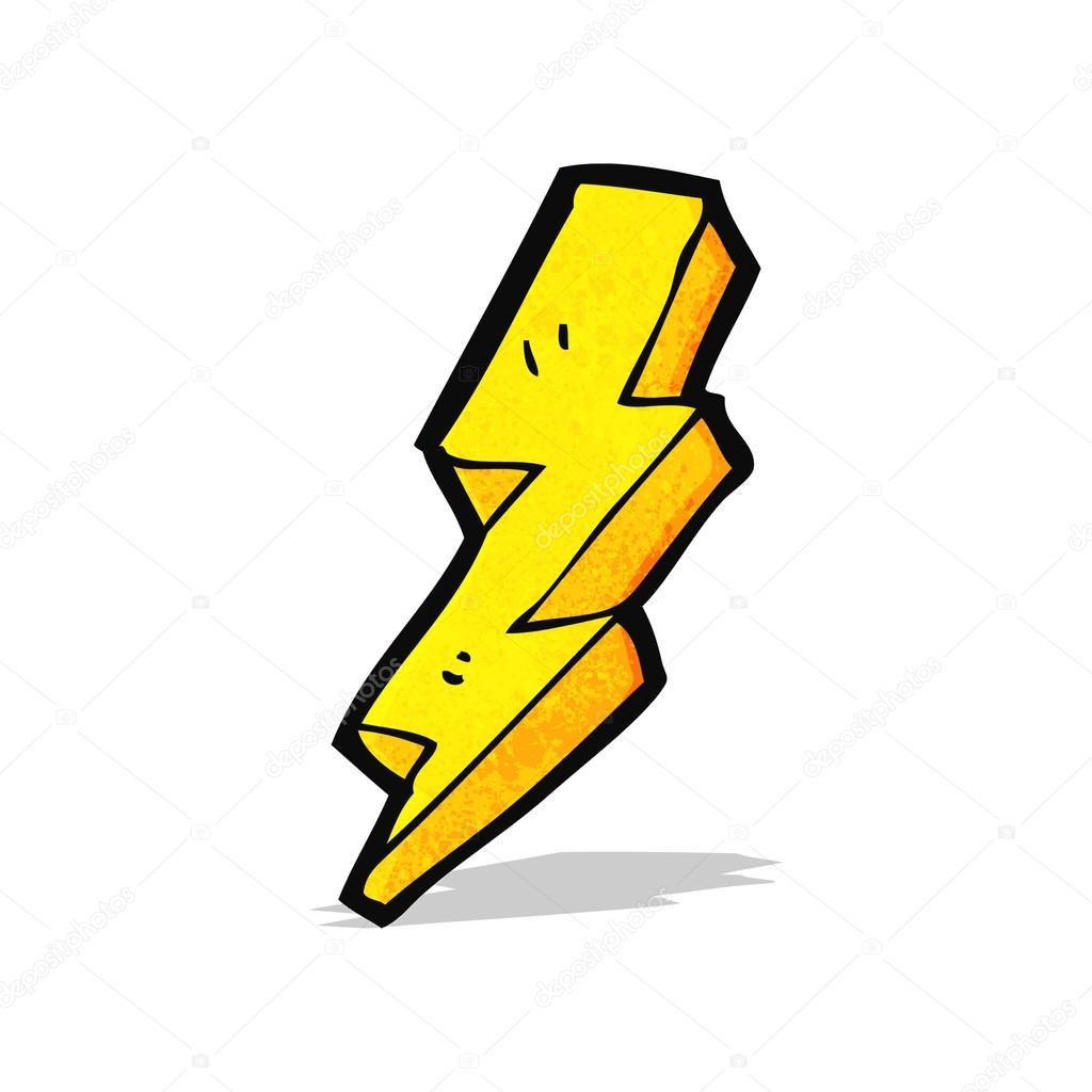 cartoon lightning bolt stock vector lineartestpilot 57804217 rh depositphotos com lightning bolt cartoon art lightning bolt cartoon gif