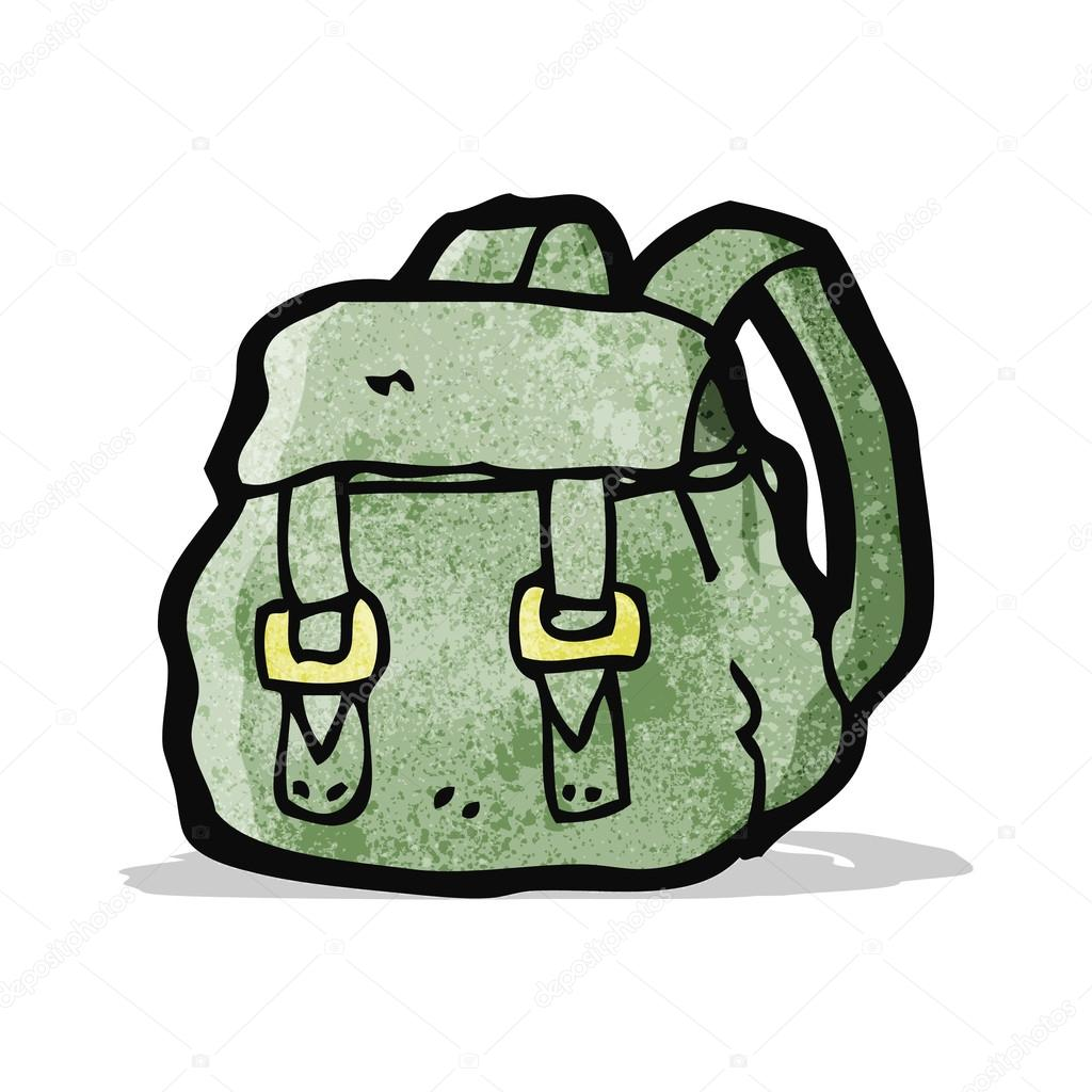 52d88a2f95 kreslený batoh — Stock Vektor © lineartestpilot  59587743
