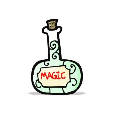 cartoon magic potion