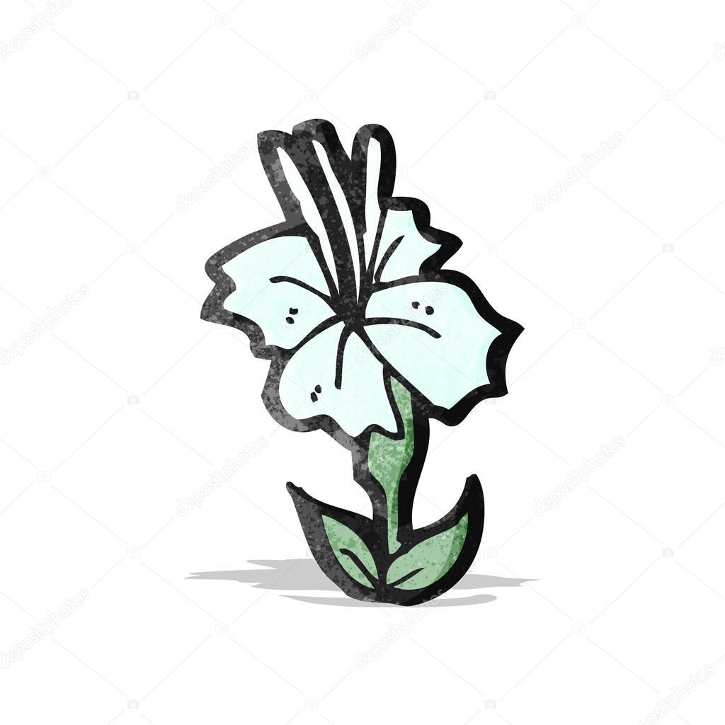Kreslene Kvetiny Stock Vektor C Lineartestpilot 59617577
