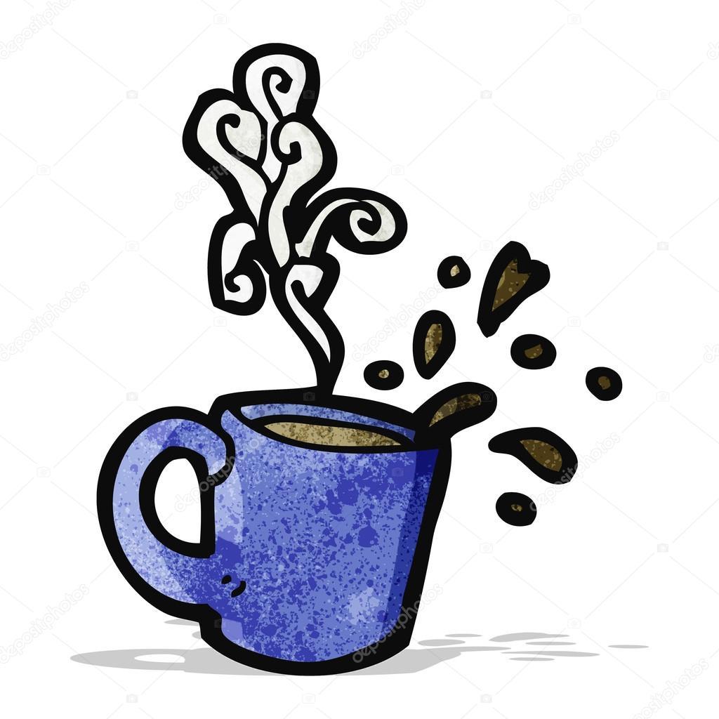Resultado de imagen de cafe caliente dibujo