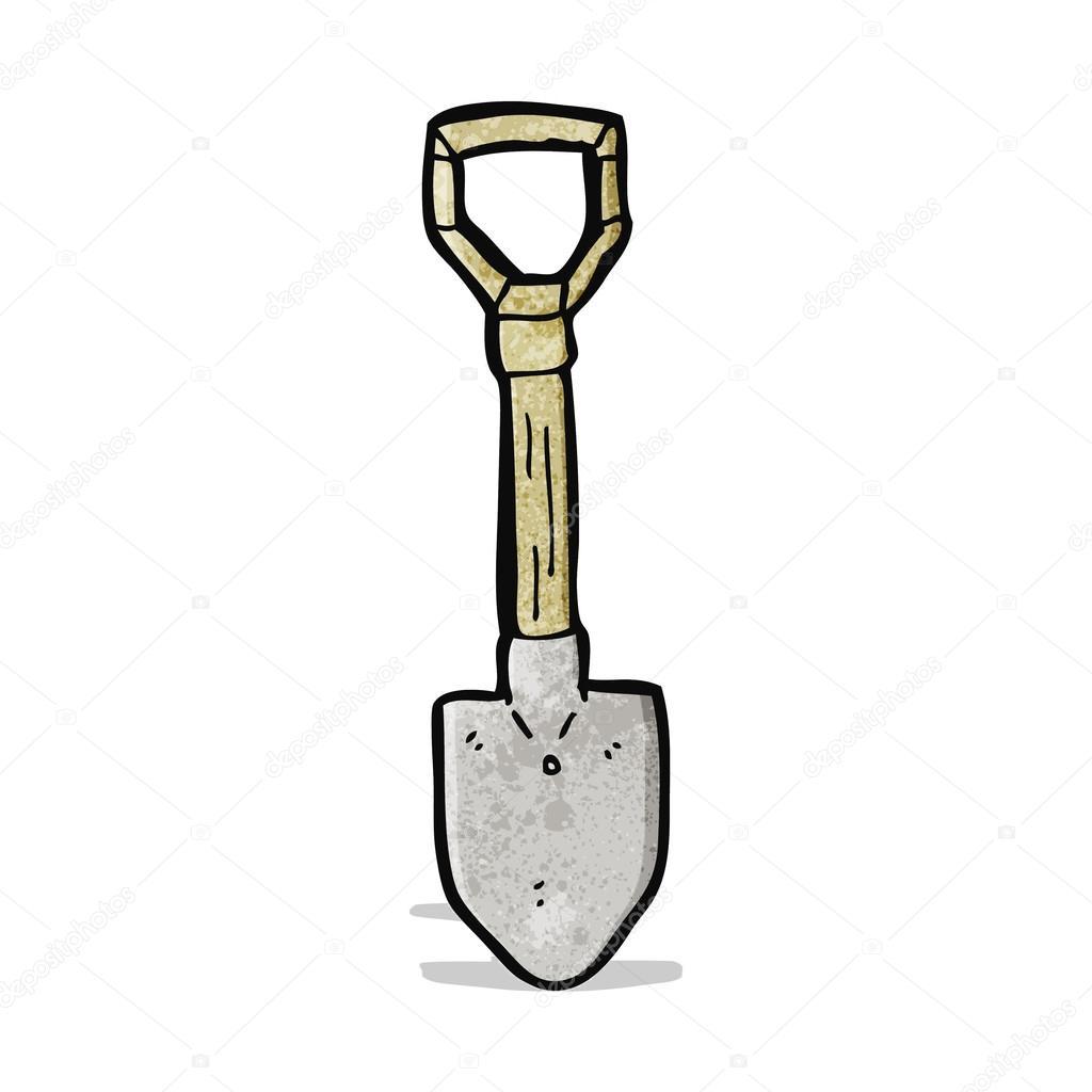 Лопата рисунок карандашом для детей