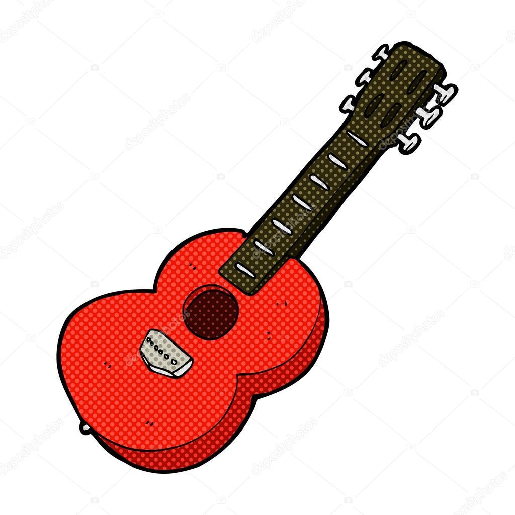 Vector Guitarra Electrica Png Guitarra Caricatura Comic