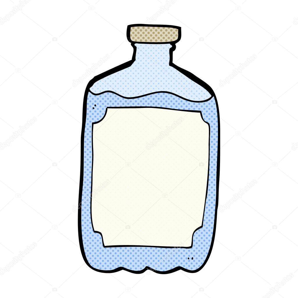 Botella de agua dibujo