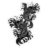 Photo koi fish tattoo