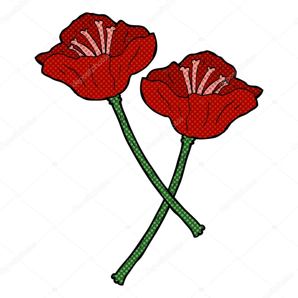 Dibujos Flores Bonitas Flores Dibujos Animados Dibujados A Mano