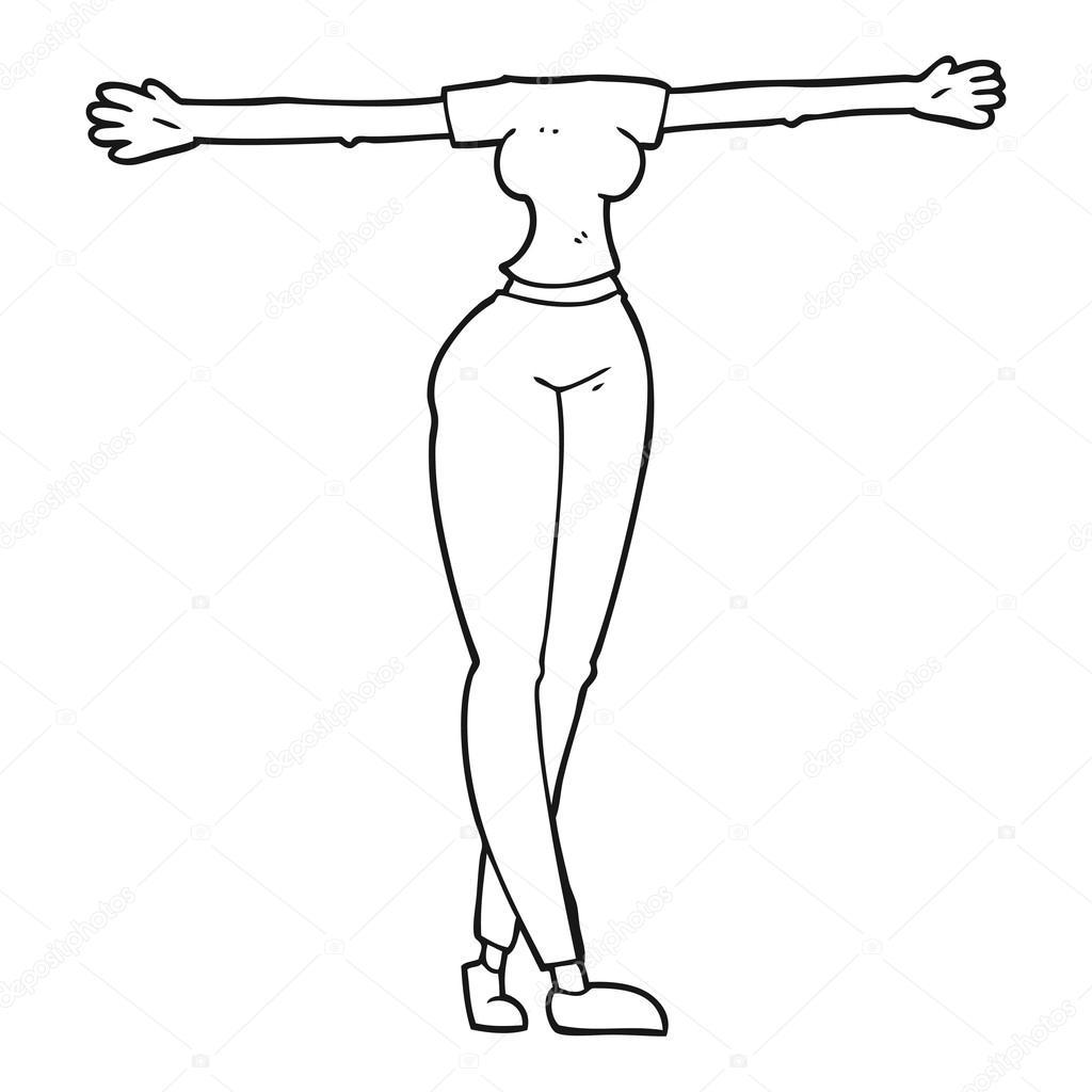 Dibujos Cuerpo Mujer Cuerpo De La Mujer A Mano Alzada Dibujos