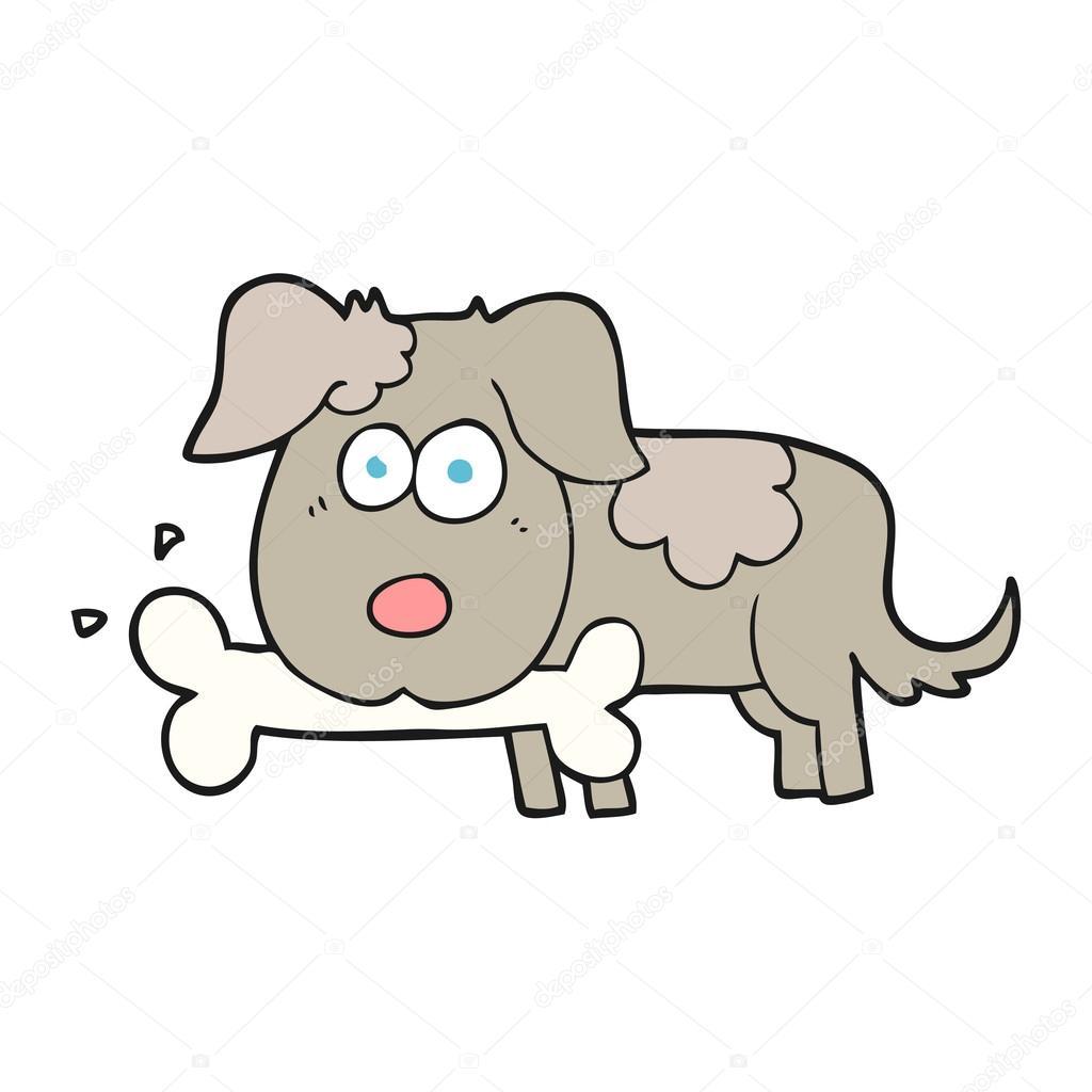 Quadro su tela alfabeto animale d con cartone animato cane