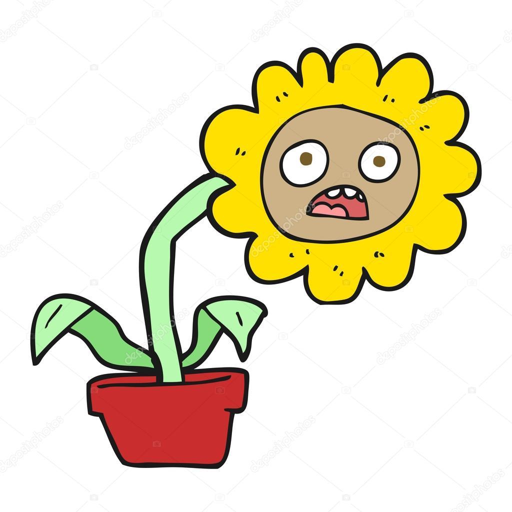 Грустный цветочек картинки для детей