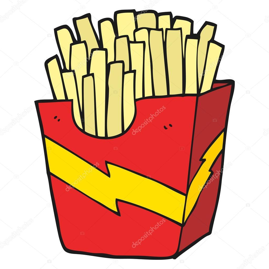papas a la francesa de dibujos animados vector de stock french fries clip art free images french fries clip art transparent