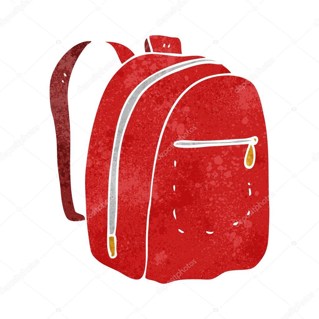 874812a7cf retro kreslený batoh — Stock Vektor © lineartestpilot  96683284