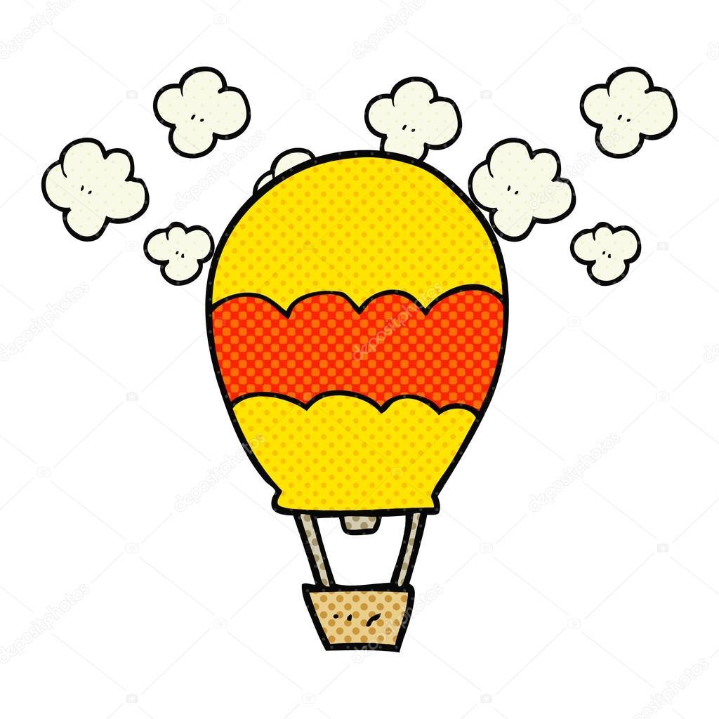 Globos Aerostaticos Animados Para Colorear Globo Aerostático Del