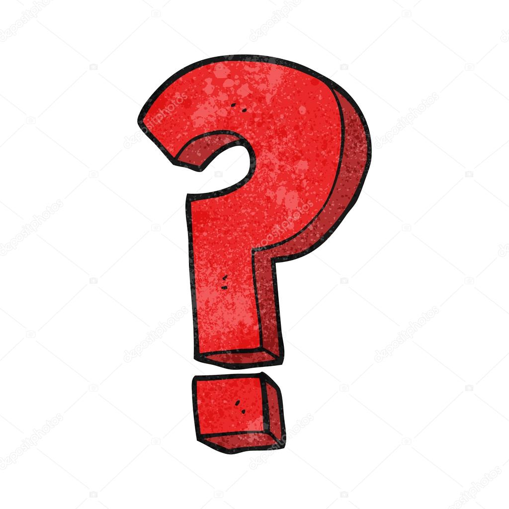 Image result for cartoon question mark