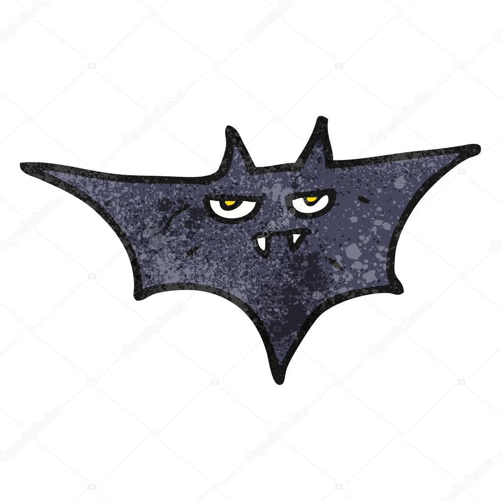Murci lago de halloween de dibujos animados con textura - Murcielago halloween ...