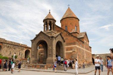 Khor Virap monastery of the Armenian Apostolic Church. Armenia