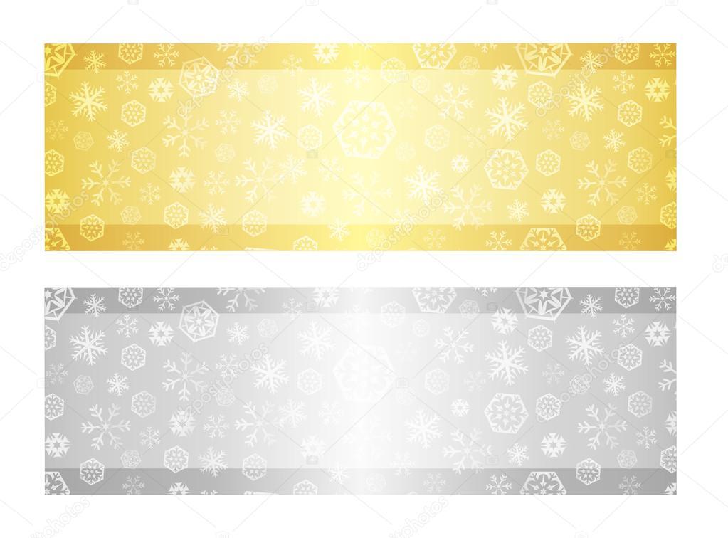 silber farbe exklusive goldene und silberne gutschein mit schneeflocke muster vektor von liliwhite silberfarbene schuhe