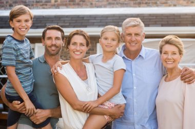 Multi generation family outdoor